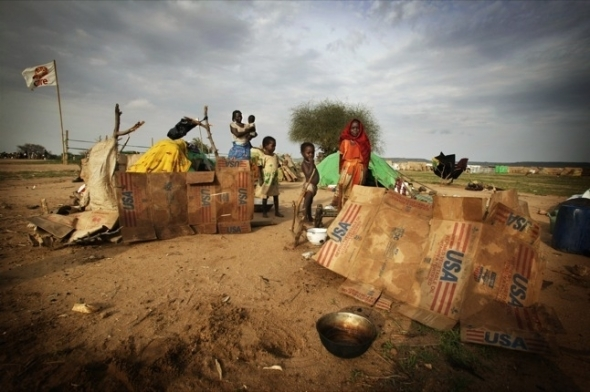 Refugee Camp in  Eastern Chad