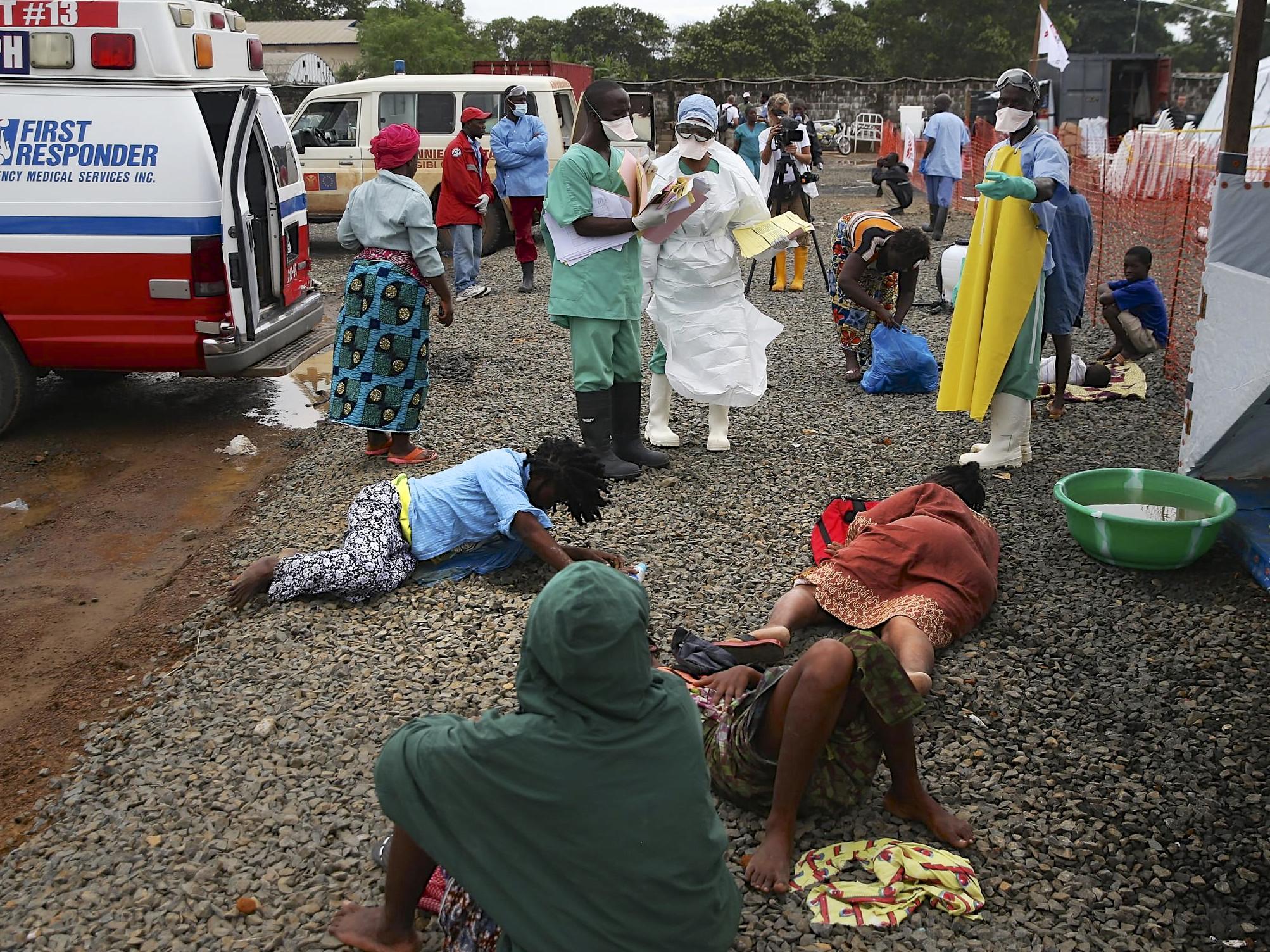 Transmission of Ebola - Ebola Home Page