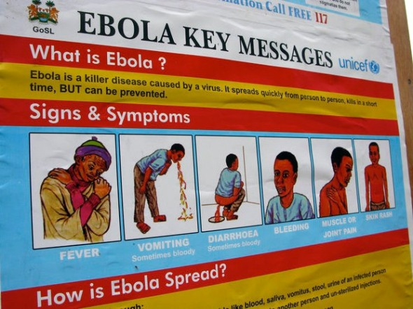 Ebola key messages.