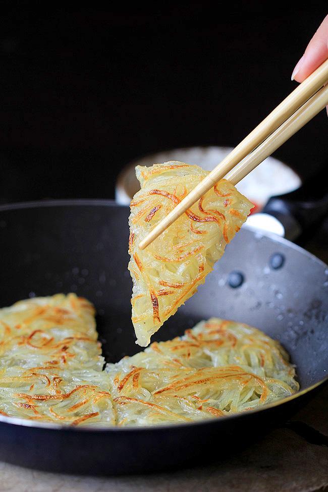 Vegan Friday: Chinese Potato Pancake. | Speak Up For The ...